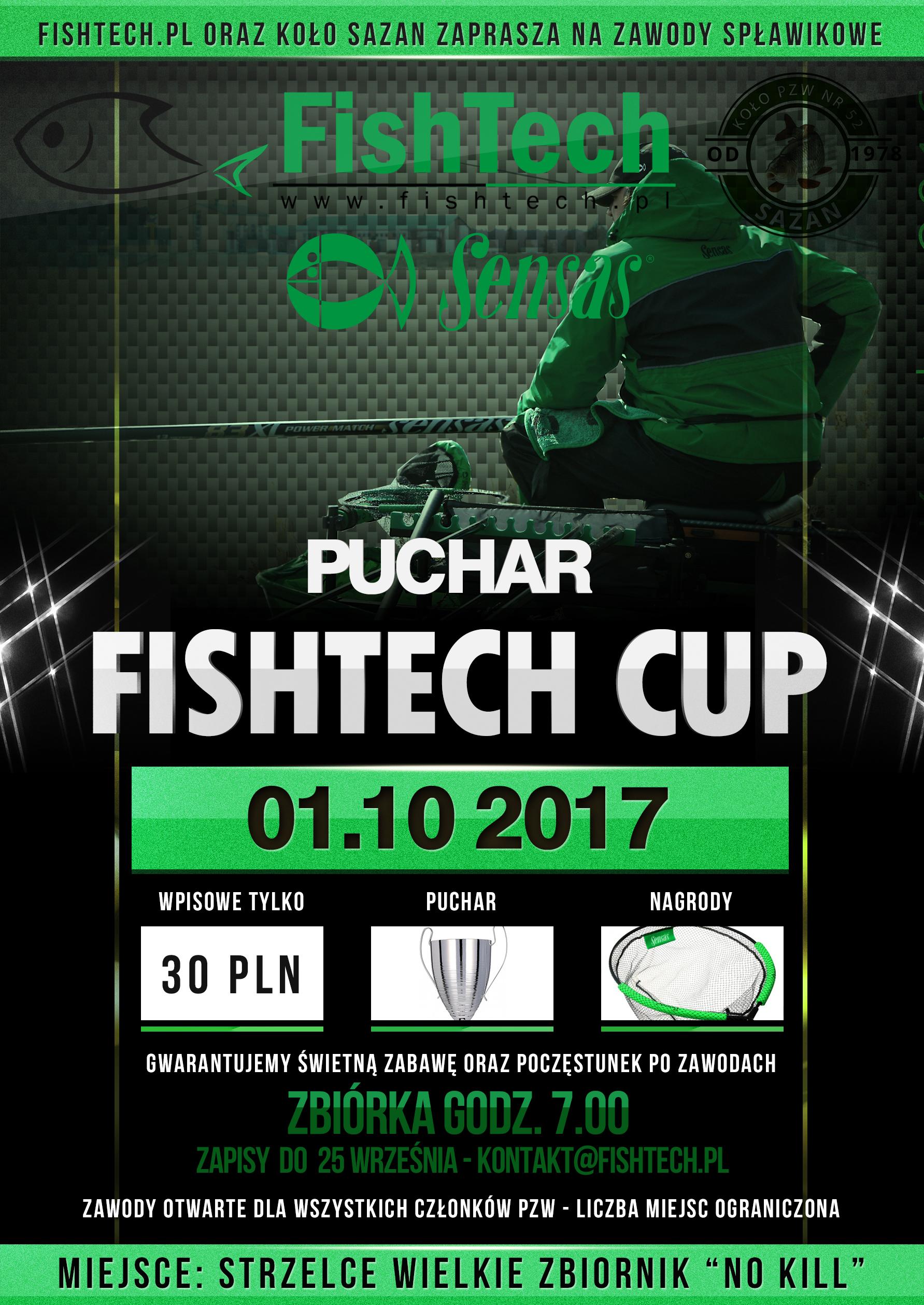 Zawody spławikowe OPEN FISHTECH CUP 01.10.2017